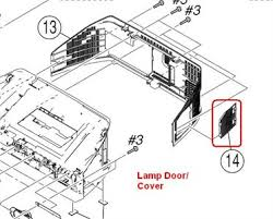 Kds R60xbr1 Lamp Door Switch by Solved Sony Kd50a2020 Replaced Bulb And Tv Will Not Turn Fixya
