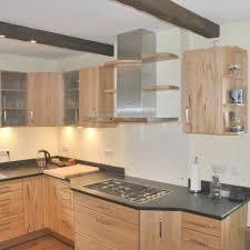 massivholzküche in kernbuche mit granit arbeitsplatte antik