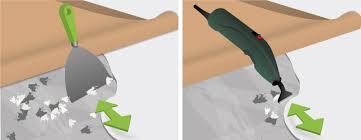 enlever colle a carrelage enlever du lino lino