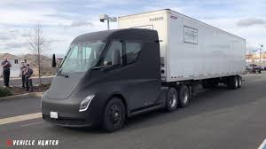 100 Semi Truck Mirrors Tesla Spotted With Mirrors YouTube