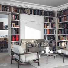 canap avec biblioth que int gr e armoire lit escamotable avec canapé intégré au meilleur prix