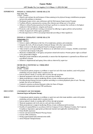 Home Health Physical Therapist Resume Samples | Velvet Jobs Occupational Therapist Cover Letter And Resume Examples Cna Objective Resume Examples Objectives For Physical Therapy Template Luxury Best Physical Aide Sample Bio Letter Format Therapist Creative Assistant Samples Therapy Pta Objectives Lovely Good Manual Physiopedia Physiotherapist Bloginsurn 27 Respiratory Snappygocom Physiotherapy Rumes Colonarsd7org