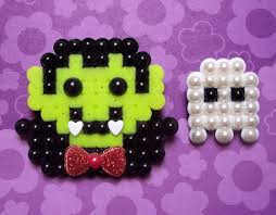 Halloween Perler Bead Templates by Bead Magnet Halloween Or Thanksgiving Pumpkin Handmade