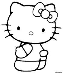 Coloriage Dessin Hello Kitty 88 JeColoriecom