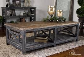 Innovative Rustic Coffee Table Set Simple And Cozy With Regard To Home Living Room