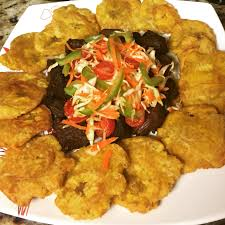 Haitian Pumpkin Soup History by Fried Beef Chunks And Fried Plantain Taso Haitian Cuisine