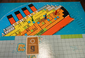 Sinking Ship Simulator Titanic Download by The Sinking Of The Titanic Board Game Review Geeky Hobbies