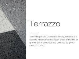 5 Types Of Terrazzo