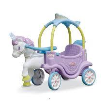 Little Tikes Magical Unicorn Carriage Ride On - Toys