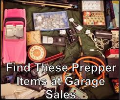 Youll FInd These Prepper Items At Garage Sales Look Around Though Are Indeed Great They Will Do Well For Homesteaders Too