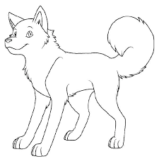 Husky Coloring Page Pages Detail Dog Colouring