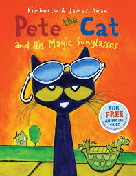 pete the cat books pete the cat and his magic sunglasses by dean