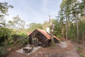 100 Tree House Studio Wood Vacation Home Landgoed Dennenholt Huizen De Nink