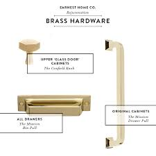 unlacquered brass cabinet hardware house beautiful