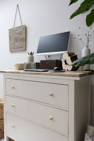 Ikea Hemnes Desk Hutch by Diy Standing Desk With Ikea Hemnes Dresser U2014refreshed Designs