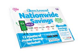 National Edition 2020 SaveAround® Coupon Book