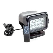 100 Truck Spot Light 50W Remote Control Super Bright LED Search