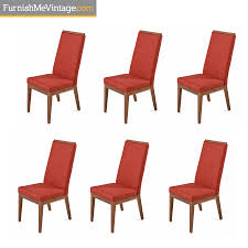 Verbois Jane Dining Chairs - Solid Walnut Set Of Six In Red Fabric Capital Ding Chairs Reviews Verified Cream Wooden Room Chair With White Back And Red Fabric Annie Mos Fniture Collection Of Leather Fabric Maddox Modern Red Walnut Set 2 Upholstered Parsons 6 X Faux Leather Ding Chairs In L11 Liverpool For Poppy Retro Pine Upholstered Lovely Kemnay Weston Home Cranberry 2019 Products Blaine Tufted Wing Back Gdf Studio Bridge Of Weir Renfwshire Gumtree Mcc Linen Roll Top Scroll High