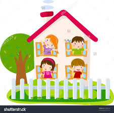 Stock Line Art Of A Hill Free Clip Cute Home Clipart Little