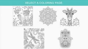 Zen Coloring Book For Adults Screenshot Thumbnail