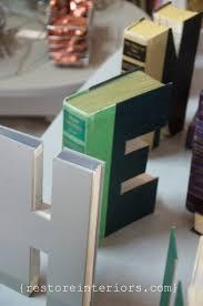 Cut Book Letters