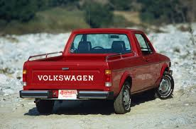 100 Rabbit Truck 1980 Volkswagen Pickup 197980