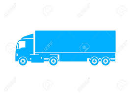 Blue Truck Icon On White Background Royalty Free Cliparts, Vectors ... Truck Icon Delivery One Of Set Web Icons Stock Vector Art More Cute Food Vectro Download Free Free Download Png And Vector Forklift Truck Icon Creative Market Toy Digital Green Royalty Image Garbage Simple Style Illustration Cstruction Flat Vecrstock Semi Dumper Blue On White Background Cliparts Vectors