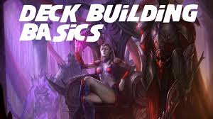 deck building 101 youtube