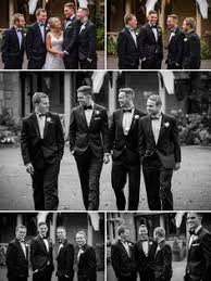 The Wedding Party Ideas For Clothes Black Bow Tie Suites Men