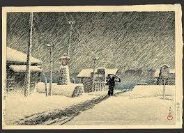 Image Result For Japanese Prints Snow