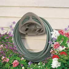 Suncast Garden Shed Taupe by 150 Ft Hose Hangout Suncast Corporation