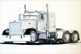Truck And Trailer Coloring Pages 201722 Horse Trailer Coloring Pages ...