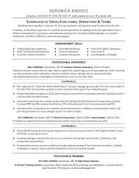 Resume Sample Supervisory Skills Plus Supervisor For Prepare Cool Examples 2018 Students 412