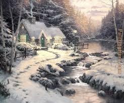 Thomas Kinkade Christmas Tree For Sale by 154 Best Thomas Kinkade Images On Pinterest Artists Artworks