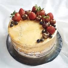 Rustic Fruits Topper Cake 9 Inch