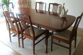 Used Dining Set Room Table And Chairs Decor Ideas