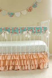 Coral And Mint Crib Bedding by 30 Best Peach And Mint Nursery Images On Pinterest Mint Nursery