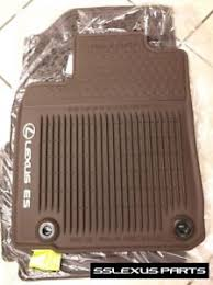 lexus es350 es300h 2016 4pc all weather floor mats oem brown