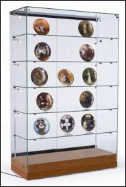 furniture amazing glass display cabinet with lock glass display