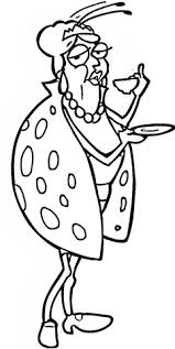 Click To See Printable Version Of Old Ladybug Coloring Page