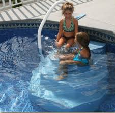 Above Ground Pool Ladder Deck Attachment by Merlin Ag Pool Step Aqua Staircase