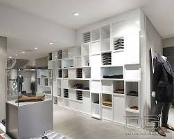GR13 High End Luxury Store Design For Clothing Display Racks