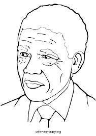 Every Month Is Black History Coloring Pages Condoleeza Rice Colin Powell And Nelson Mandela