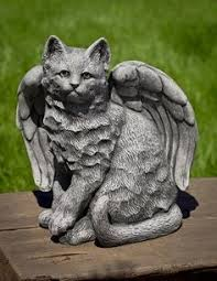 cat garden statue handcrafted volcanic ash cat garden statue from plow hearth