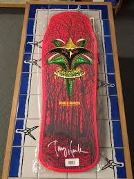 Tony Hawk Signed Skate Deck by Signed 8th Series Blog Bones Brigade An Autobiography