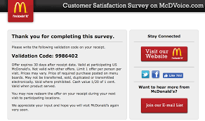 Mcdvoice Coupon Code Mcdvoicecom Customer Survey 2019 And Coupon Code Mcdonalds Survey Coupon Chick Fil A Receipt Code September 2018 Discounts Kroger Coupons On Card Actual Store Deals Mcdvoice Free Sandwich Offer Mcdvoicecom Wonderfull Mcdvoice Rules Business Personalized Mcdvoice Ways To Complete It Procedures And Tips Mcdvoice Mcdonalds At Wwwmcdvoicecom Online For Surveys The Go 28 Images How To Get Free Wwwmcdvoicecom Sasfaction Coupon Www Com 7 Days Mcdvoice