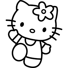 Coloring Book World Hello Kitty Mermaid Coloring Pages To