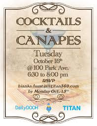 cocktails and canapes dailydooh archive dpbmedia titanads cocktails canapes