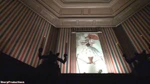 Haunted Mansion On Ride Night Disney Worlds Magic Kingdom