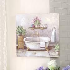 cdcasa bild gemälde leinwand quadratisch für badezimmer